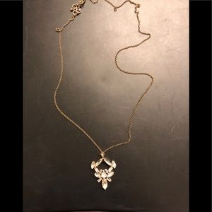 Long J Crew statement necklace
